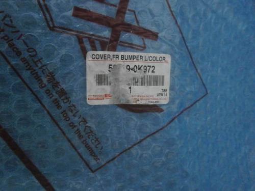 parachoque delantero hilux 2.7 06-11
