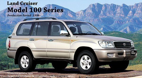 Toyota land cruiser serie 100