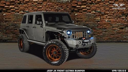 parachoque  delantero ultima jeep jk corto viper