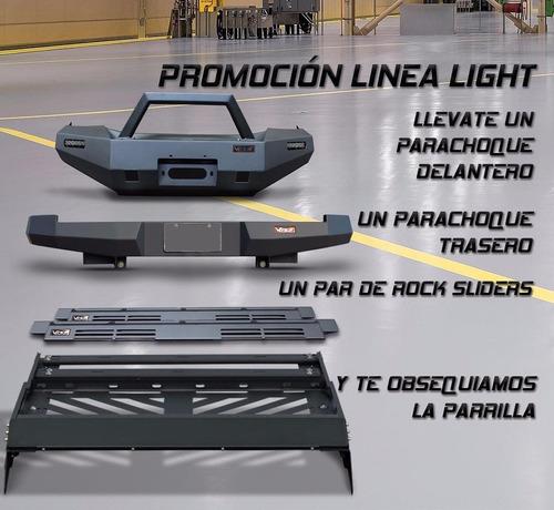 parachoque delantero ultima   light hilux 12 up viper