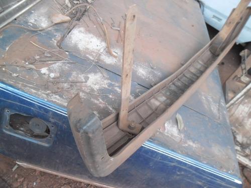 parachoque dianteiro fiat 147 panorama plastico modelo 82