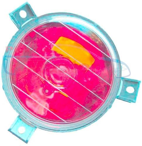 parachoque dt. + tr + acessorios l-200 gls 2001/07 quadrada.