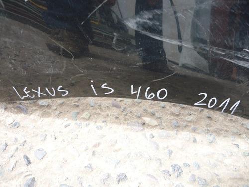 parachoque lexus is 460 2011 - usada - lea descripción