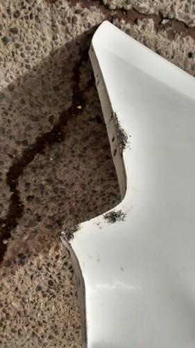 parachoque optra trs 2010 sedan con daños - lea descripción