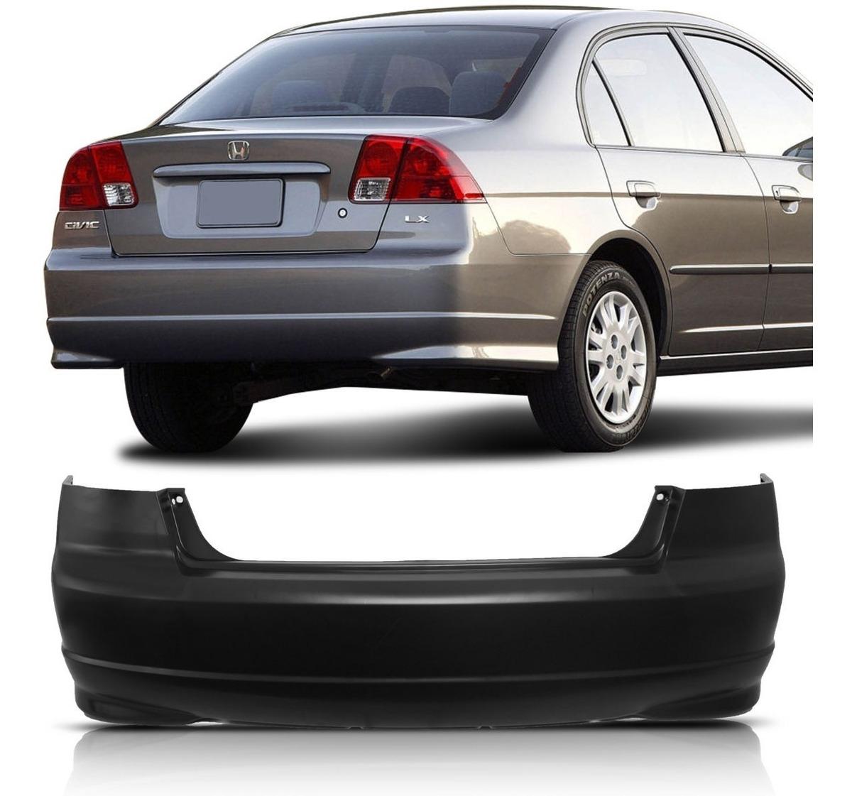 Az Acessorios Tudo Em Acessorios Automotivos Parachoque Traseiro Civic 2004 2005 2006 R 414 00