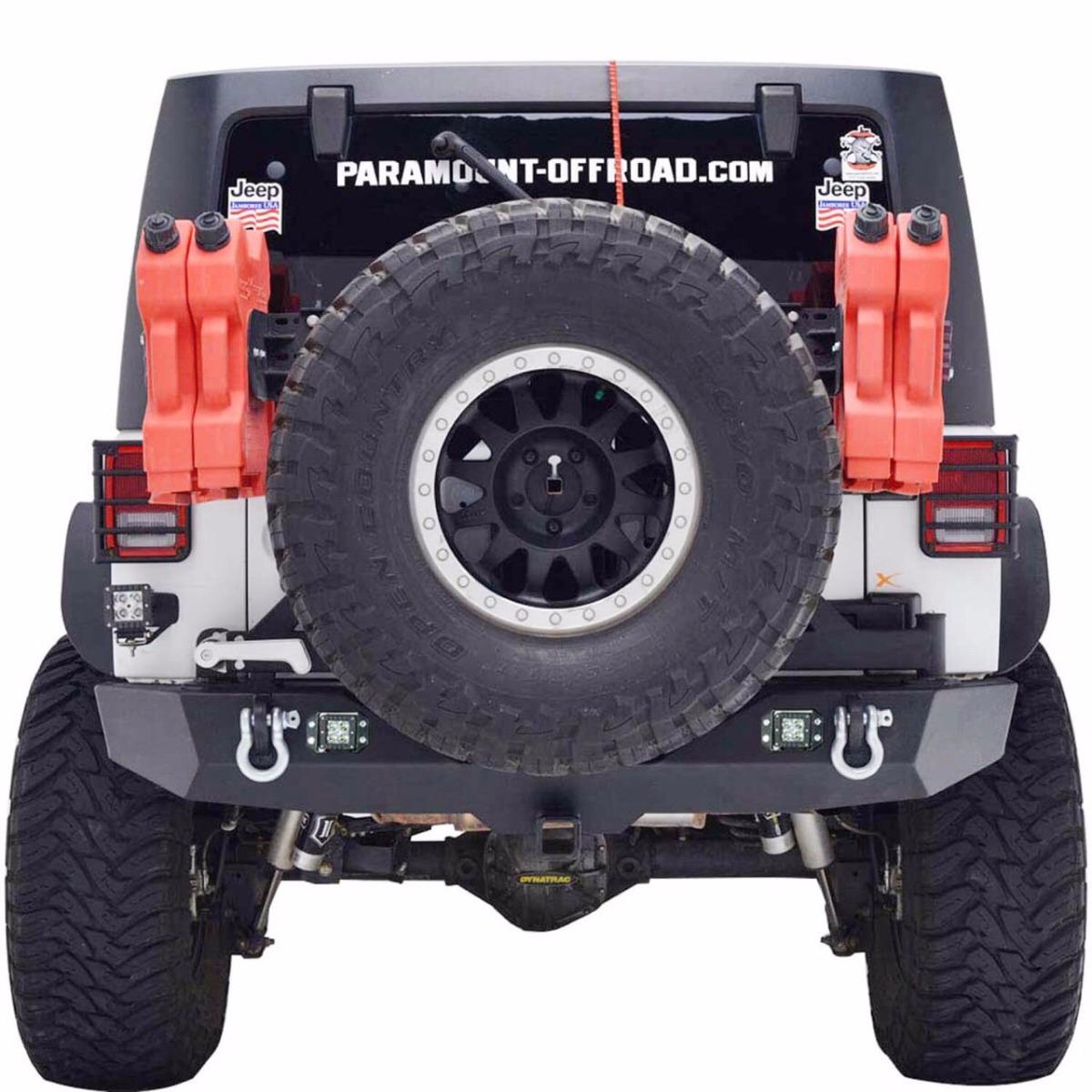 Parachoque Traseiro Com Tire Carrier Jeep Wrangler Jk. Carregando Zoom.