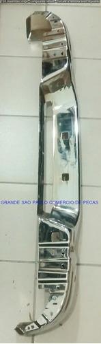 parachoque traseiro cromado nova s10 12/14 p/n 52068698