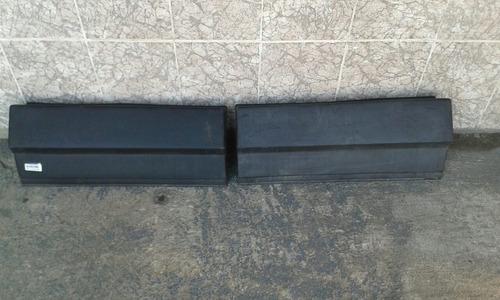 parachoque traseiro fiorino baú furgão 91/2009 usado cada