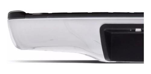 parachoque traseiro + lanterna traseira hilux 2005 a 2013