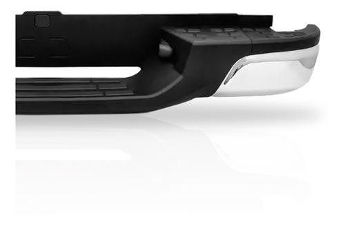 parachoque traseiro s10 2012 13 a 17 18 19 cromado completo