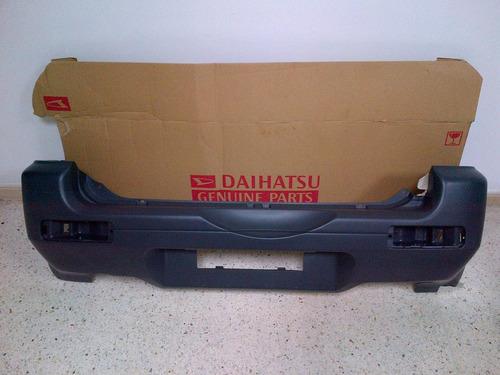parachoque trasero daihatsu terios 2002 al 2007 original
