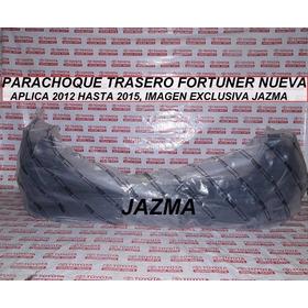 Parachoque Trasero Fortuner 2012 2015 Original Toyota