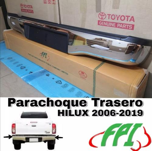 parachoque trasero hilux  2012 2013 2014 2015 2016 completo