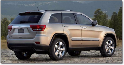 parachoque trasero inferior jeep grand cherokee 2011-2013