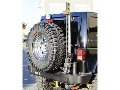 parachoque trasero jeep jk texturizado mas portacaucho arb