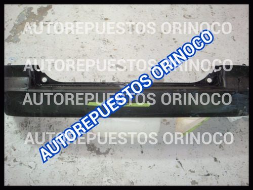 parachoque trasero mazda demio 2005 al 2007 usado original