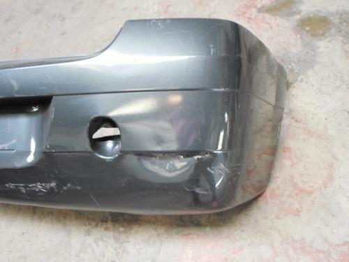 parachoque trasero renault logan 06/09 usado roto reparable