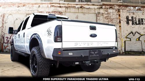 parachoque trasero ultima ford f250 viper