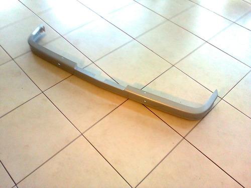 parachoque trazeiro chevette 80/82 pintado na cor prata