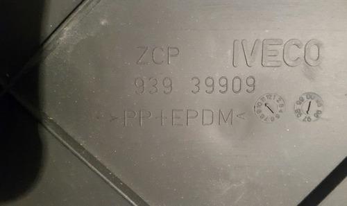 parachoques trasero / porta placa iveco daily 38.13 - 60.12
