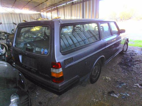 parachoques trasero volvo 240 gl station wagon año 1987-1991