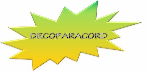 paracord driza cordon tipo iii 550 de 7 hilos. original.