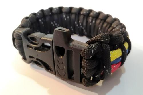 paracord pulsera venezuela hilo reflectivo ¡mírala ya!