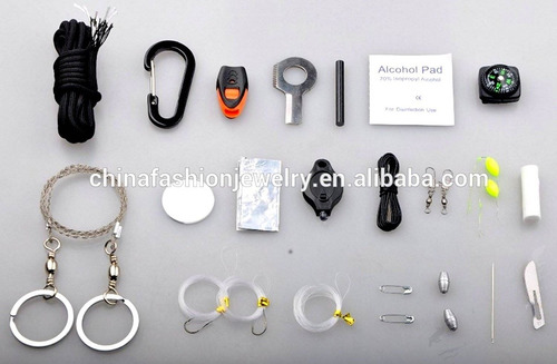 paracord survival cord combo kit - magnesio f + envio gratis