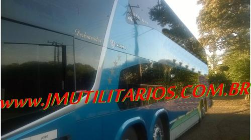 paradiso dd 1800 g7 ano 2012 scania k420 56 lg wc  jm cod.12