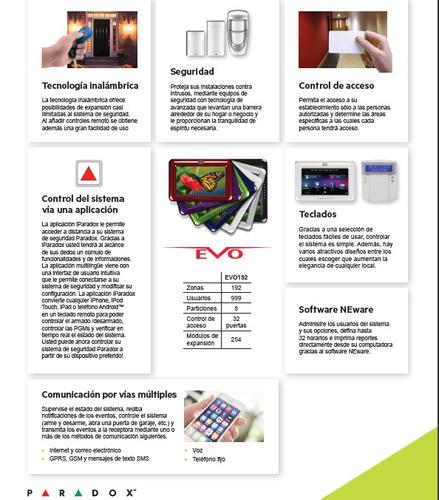 paradox security systems servicio tecnico calificado.