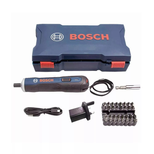 parafusadeira bosch go bivolt 3,6v lançamento + kit bits