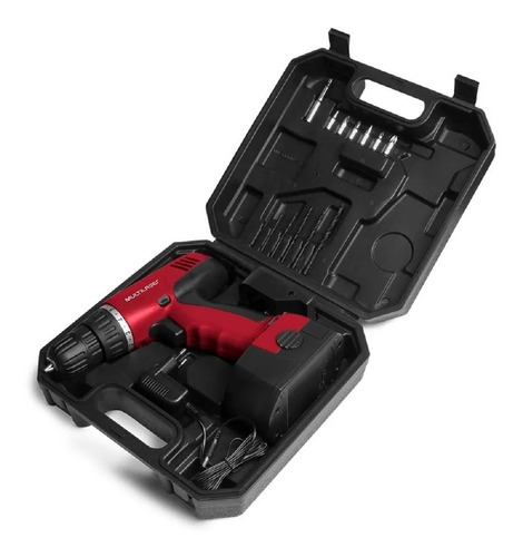 parafusadeira e furadeira 12v com maleta-ho045 sem fio