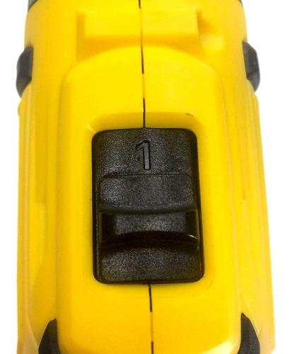 parafusadeira furadeira bateria 3/8 pol. 12v bivolt titanium
