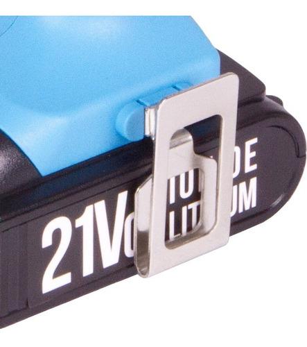 parafusadeira furadeira gamma 21v lithium g12103br