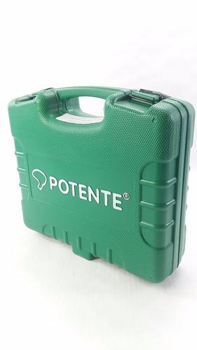 parafusadeira pneumática potente c/10 soquetes encaixe 1/2