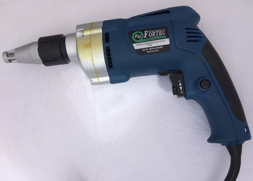 parafusadeira reversível p/ gesso e dywall 450w - 110v