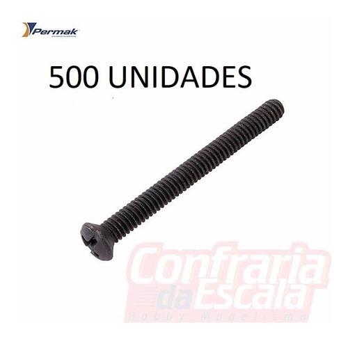 parafuso 5/32x1 1/2pol. 39mm phillips flat 139 500 permak