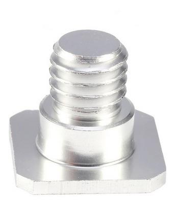 parafuso adaptador de rosca de 1/4 a 3/8 p/ monopés tripés