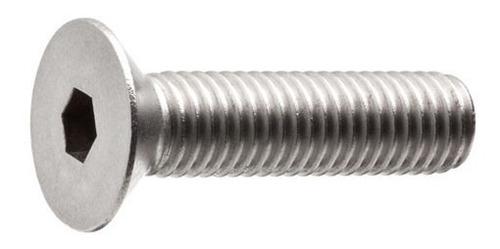parafuso allen inox com cabeça conica m5 x 20mm 100 peças