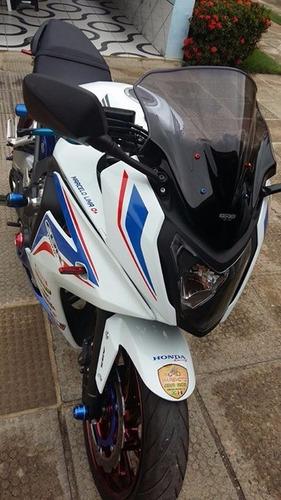 parafuso alumínio anodizado 5mm bolha moto  honda suzuki cbr