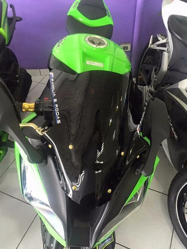 parafuso alumìnio anodizado esportivo bolha moto