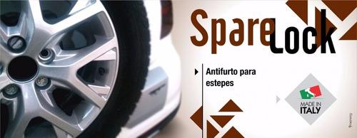 parafuso antifurto estepe sparelock renault duster 12/