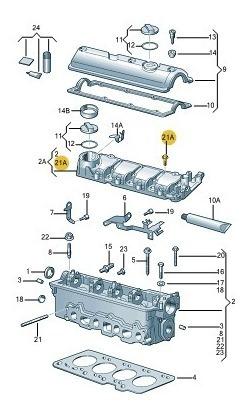 parafusos cabeçote motor