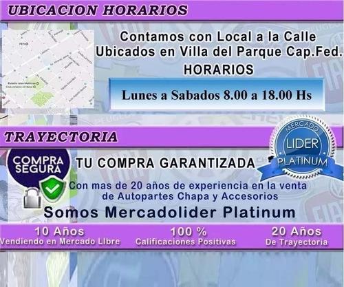 paragolpe palio siena 2004 2005 2006 2007 2008 2009 2010 2011 2012