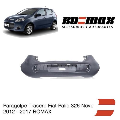 paragolpe trasero fiat palio 326 novo 2012-2017 romax
