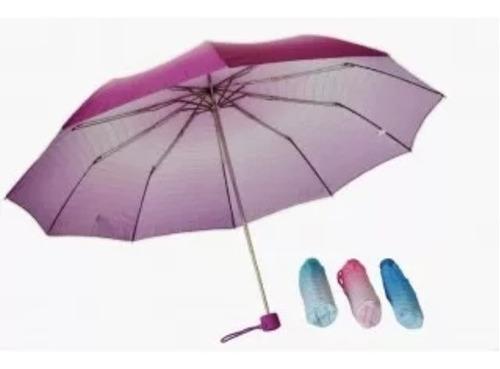 paragua de cartera, sombrilla, portatil nuevas de colores