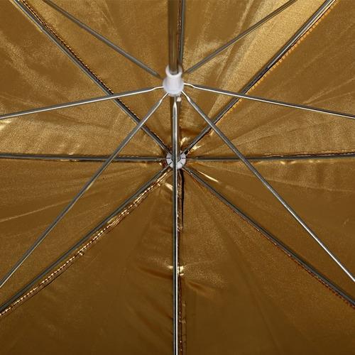 paragua dorado fotografía