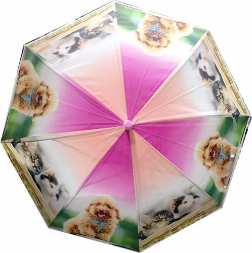 paragua paraguas infantil  estampados impermeables vs motivo