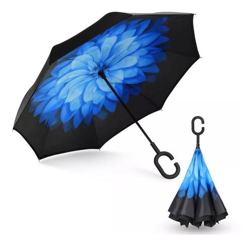 paraguas 15 piezas sombrilla  reversibles lluvia sol