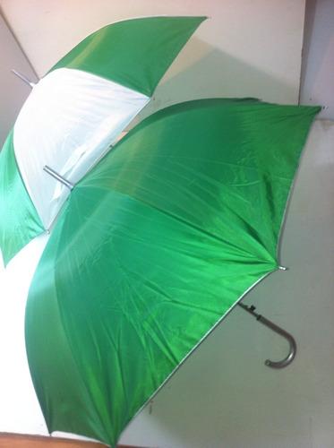 paraguas bicolor mediano $35 desde una pz